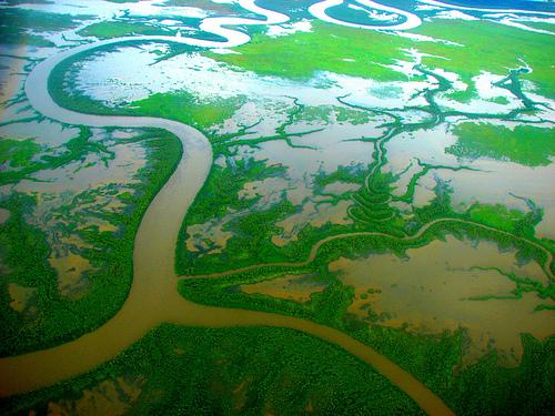 river delta photo