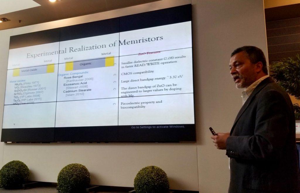 Mehdi Anwar, EMN Memristive Switching & Networks