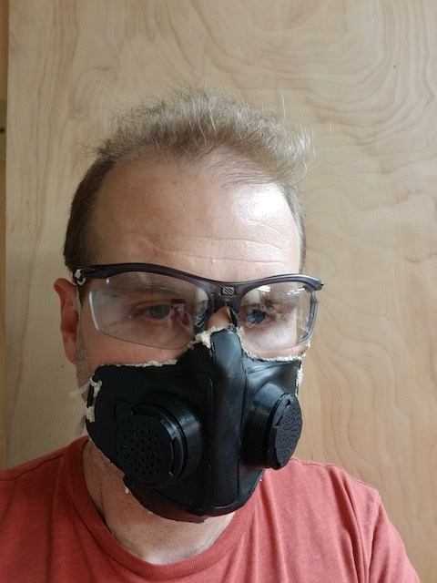 Finished respirator