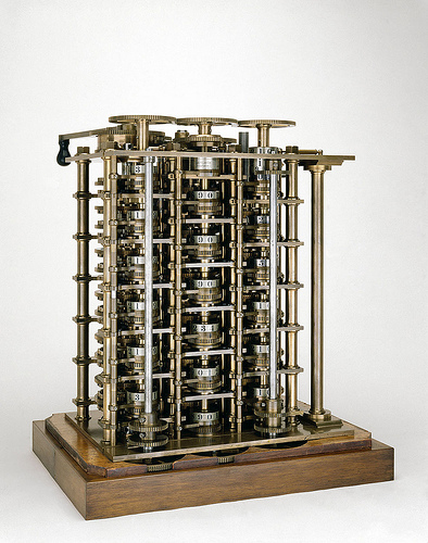 difference engine photo