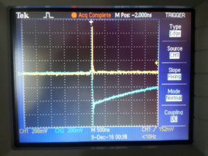 ADG512 Switch Voltage Transients on Close