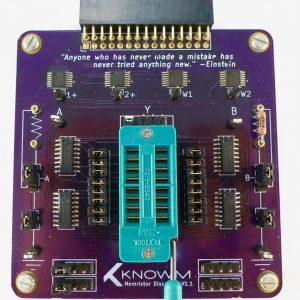 Memristor Discovery V1.X Board