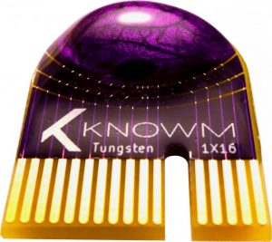 Knowm 1X16 Memristor Array Chip (Front) 2