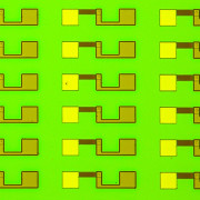 Knowm memristor research die close up