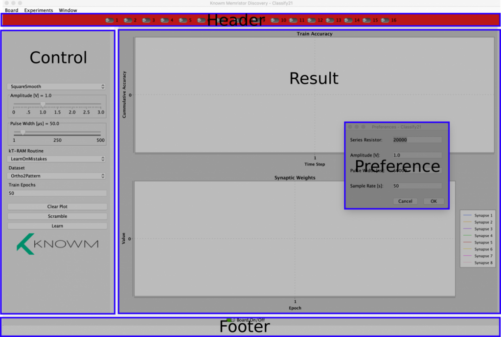 Memristor Discovery GUI Overview