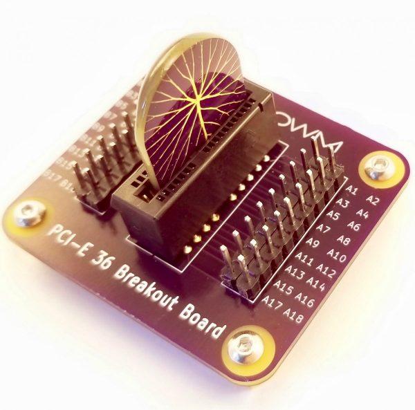 PCI-E 36 Breakout Board with Memristor Chip