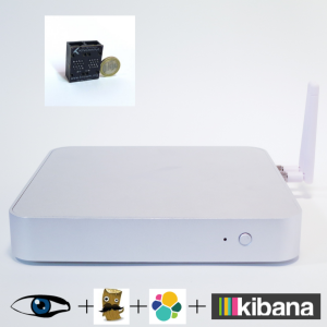 Plug and Play Network Monitor Bro ELK LAN Tap