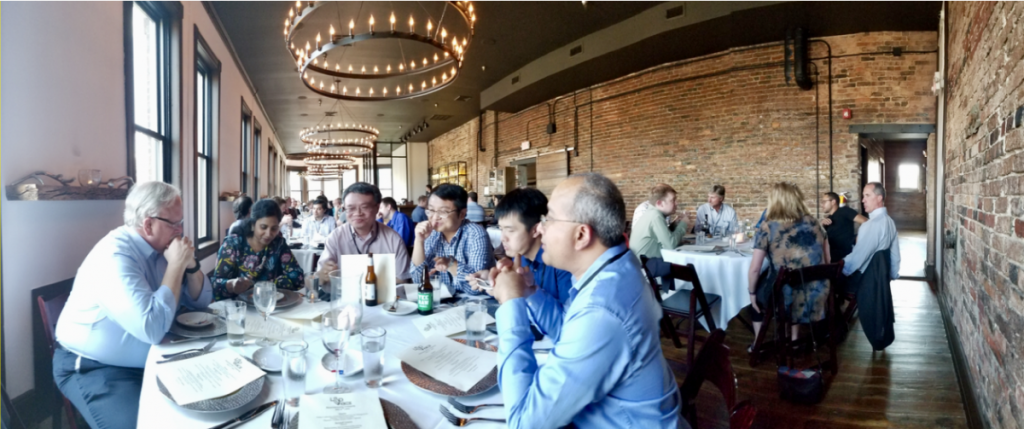 Neuromorphic Symposium Dinner Sponsored by Knowm Inc and Duke University, Knoxville Tennessee, July 2017