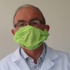 Fabriquer un masque de protection par le Pr Garin