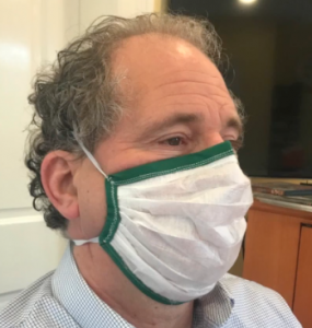 DIY mask with Air Filters