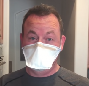 HEPA Vacuum Sewn Mask