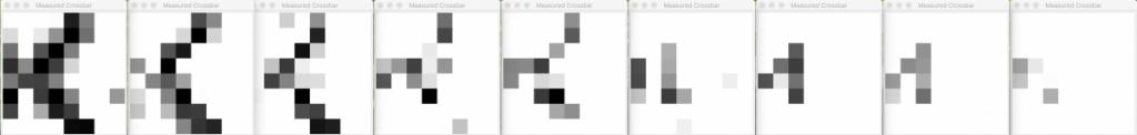 crossbar knowm logo 8X8